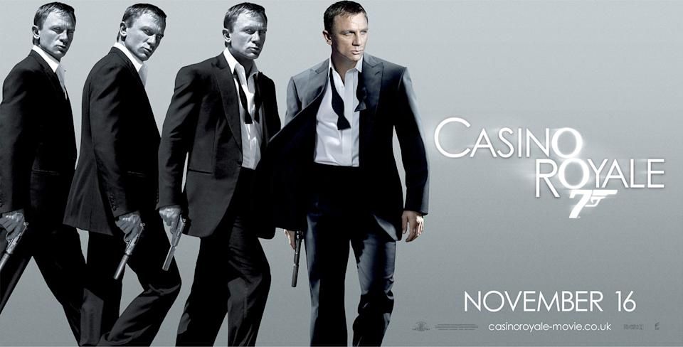 Daniel Craig was gifted the series' first ever proper reboot, with his 007 debut adapting Fleming's debut Bond book. After the excesses of <em>Die Another Day</em>, Martin Campbell delivered a muscular, stripped back, down to earth Bond, reframing the character entirely for the 21st century. (Eon/MGM)