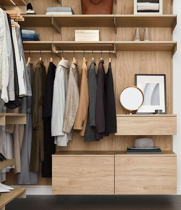 """<p>When it comes to a budget-friendly system, celebrity closet designer <a href=""""http://www.laclosetdesign.com/index.html"""" target=""""_blank"""">Lisa Adams</a> loves to recommend The Container Store's new Avera line. """"It offers a few design details that I incorporate into my custom designs—from lighting to angled shoe shelves to drawer inserts,"""" she says. """"I like the storage bins that fit perfectly into their cubbies!"""" — <a href=""""http://www.laclosetdesign.com/index.html"""" target=""""_blank"""">Lisa Adams</a> </p><p><em>Starts at $3,539<br></em><a class=""""body-btn-link"""" href=""""https://go.redirectingat.com?id=74968X1596630&url=https%3A%2F%2Fwww.containerstore.com%2Favera%2Findex.html&sref=http%3A%2F%2Fwww.elledecor.com%2Fdesign-decorate%2Froom-ideas%2Fg29368820%2Fbest-closet-systems%2F"""" target=""""_blank"""">Learn More</a><br></p>"""