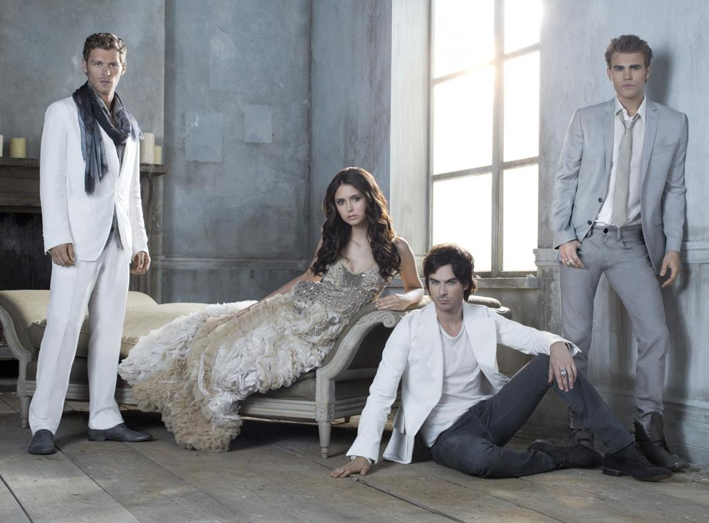 """<b>""""The Vampire Diaries""""</b><br><br>Thursday, 5/10 at 8 PM on The CW<br><br><a href=""""http://yhoo.it/IHaVpe"""">More on Upcoming Finales </a>"""