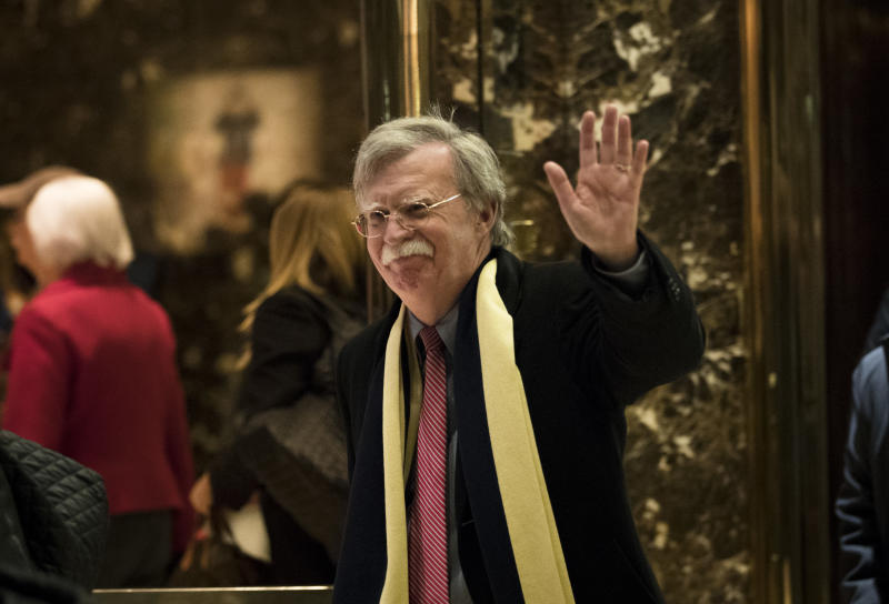 Former U.N. ambassador John Bolton says Steve Bannon asked him to draft a plan on scrapping the Iran deal. But now Bannon is out, so Bolton released his proposal online.