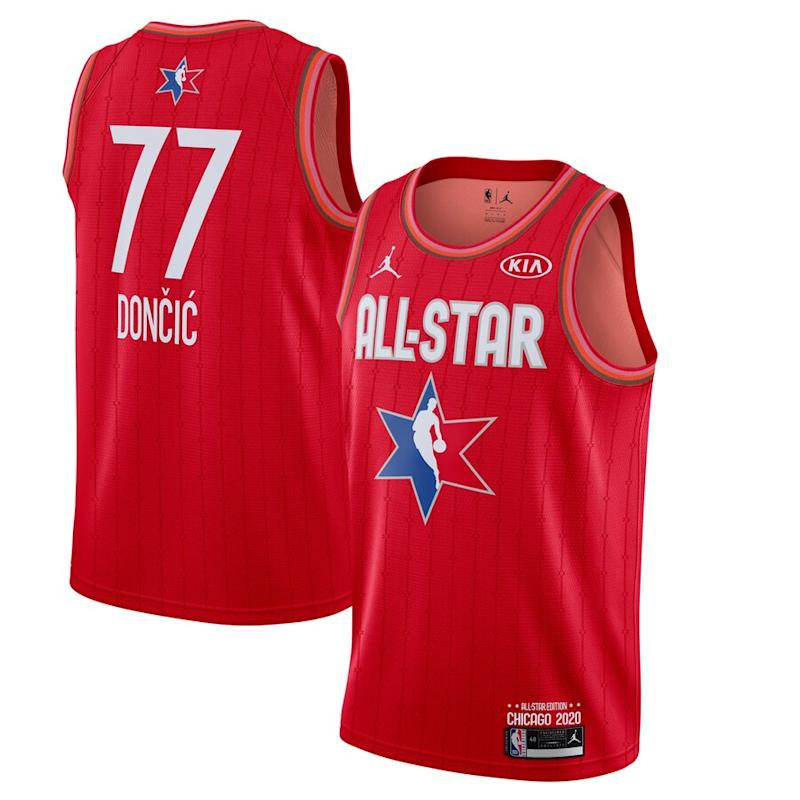 Doncic Jordan Brand 2020 NBA All-Star Game Jersey