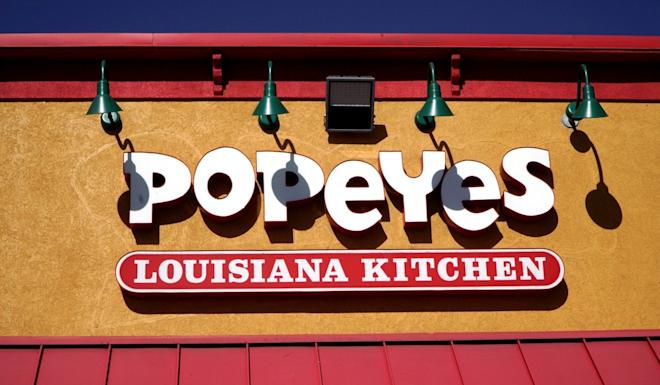Popeyes will open in China in March. Photo: Reuters