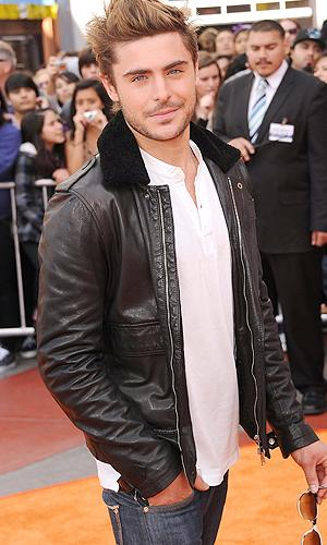 "Zac Efron attends the premiere of ""Dr. Seuss' The Lorax."" (Photo by Jason Merritt/Getty Images)"