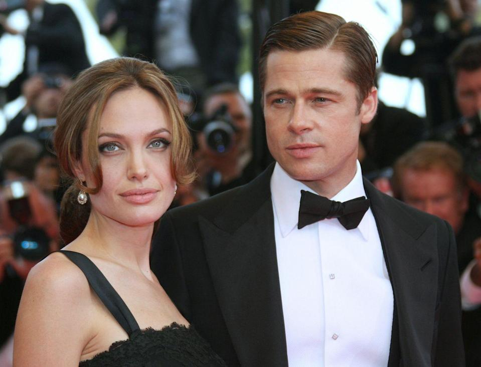 <p>Hardly his most popular look, I'd like to make the argument that his is what Pitt does best. Movie stars are a dying breed, and Brad Pitt is probably one of the last of the greats. Here, all he's done is slicked his hair back with a part, but it looks coiffed. It looks smart. It looks timeless. Not pictured: Angelina Jolie looking equally glamorous in Old Hollywood-style dress and hair. </p>