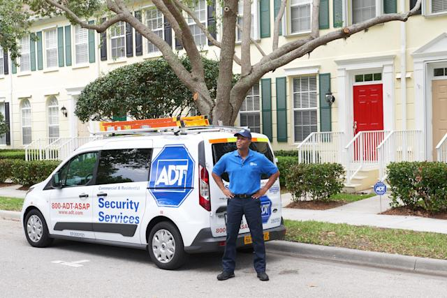 ADT wants to secure your home, phone and health.