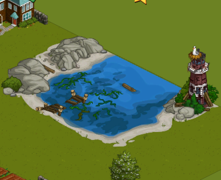 FarmVille for iPhone Lighthouse Cove