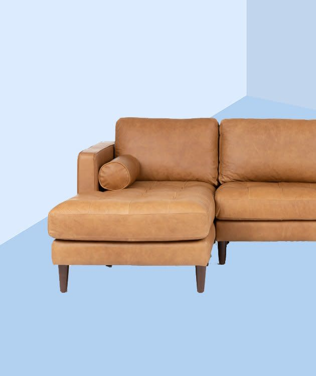 "I Never Thought I Would Be a ""Leather Sofa Person""—But It\'s ..."