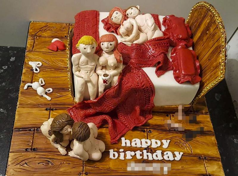 Excellent Mums X Rated Swingers Cake Funny Birthday Cards Online Aboleapandamsfinfo
