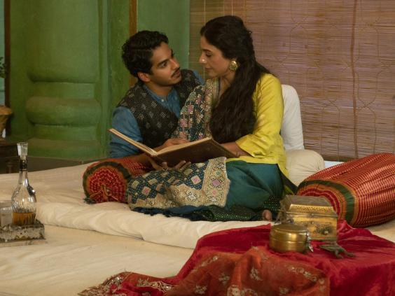 Tabu (Saeeda Bai) and Ishaan Khatter (Maan Kapoor) in A Suitable Boy (BBC/Lookout Point)