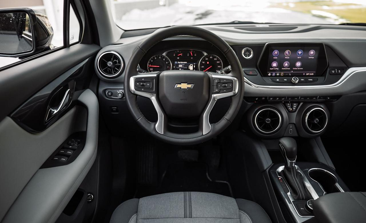 Incredible See Every Angle Of The All New 2019 Chevrolet Blazer Alphanode Cool Chair Designs And Ideas Alphanodeonline