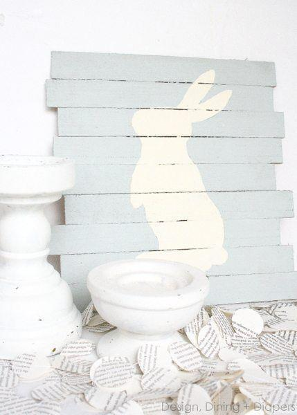 """<p>Arts and crafts fanatics, this one's right up your alley. Exercise your painting itch to give a sweet nod to the Easter bunny. </p><p><strong>Get the tutorial at <a rel=""""nofollow noopener"""" href=""""https://tarynwhiteaker.com/easter-pallet-art/"""" target=""""_blank"""" data-ylk=""""slk:Taryn Whiteaker"""" class=""""link rapid-noclick-resp"""">Taryn Whiteaker</a>. </strong></p><p><strong><a rel=""""nofollow noopener"""" href=""""https://www.amazon.com/Elmers-Carpenters-Interior-Ounces-2-Pack/dp/B06X97MQ1C/"""" target=""""_blank"""" data-ylk=""""slk:SHOP WOOD GLUE"""" class=""""link rapid-noclick-resp"""">SHOP WOOD GLUE</a><br></strong></p>"""