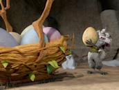 """<p><b>What It's About:</b> """"Our favorite Ice Age herd embarks on a daring rescue mission that turns into the world's first egg hunt.""""</p> <p><a href=""""https://www.disneyplus.com/movies/ice-age-the-great-egg-scapade/5JNnSxT2BIgk"""" class=""""link rapid-noclick-resp"""" rel=""""nofollow noopener"""" target=""""_blank"""" data-ylk=""""slk:Stream Ice Age: The Great Egg-Scapade on Disney+ here!"""">Stream <b>Ice Age: The Great Egg-Scapade</b> on Disney+ here!</a></p>"""
