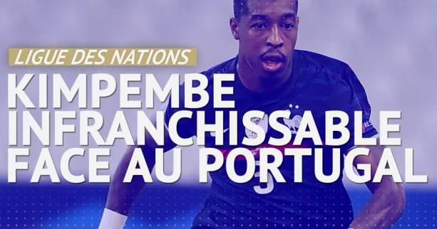 Foot - Bleus - Bleus : Presnel Kimpembe infranchissable face au Portugal