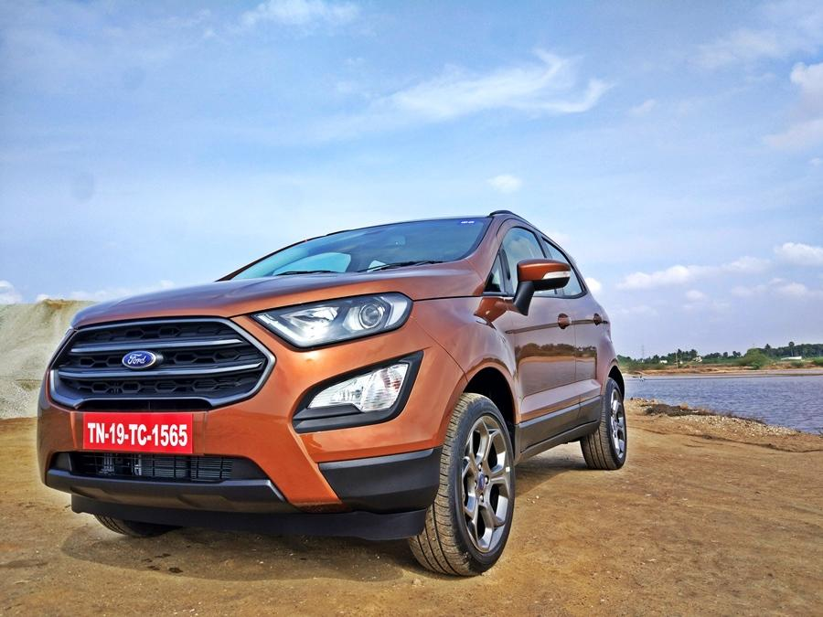 <strong>Ford EcoSport (Rs 8.7 to Rs 12.7 lakh)- </strong>The EcoSport has an impressive 550mm wading depth and that helps it tackle flooded roads with ease.