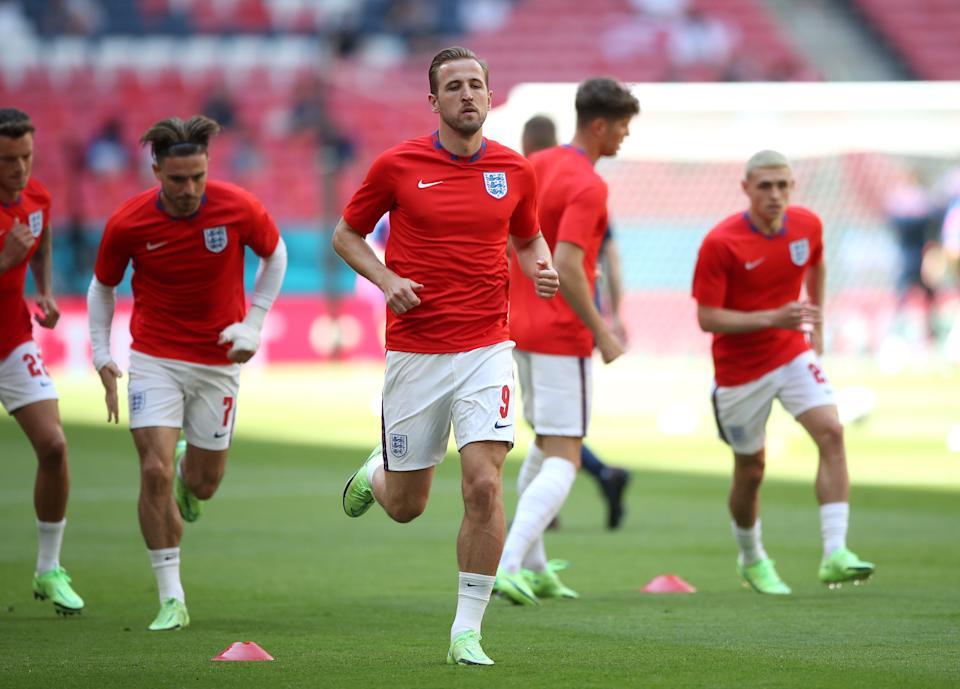 Harry Kane is focused firmly on leading England to Euro 2020 glory (PA)