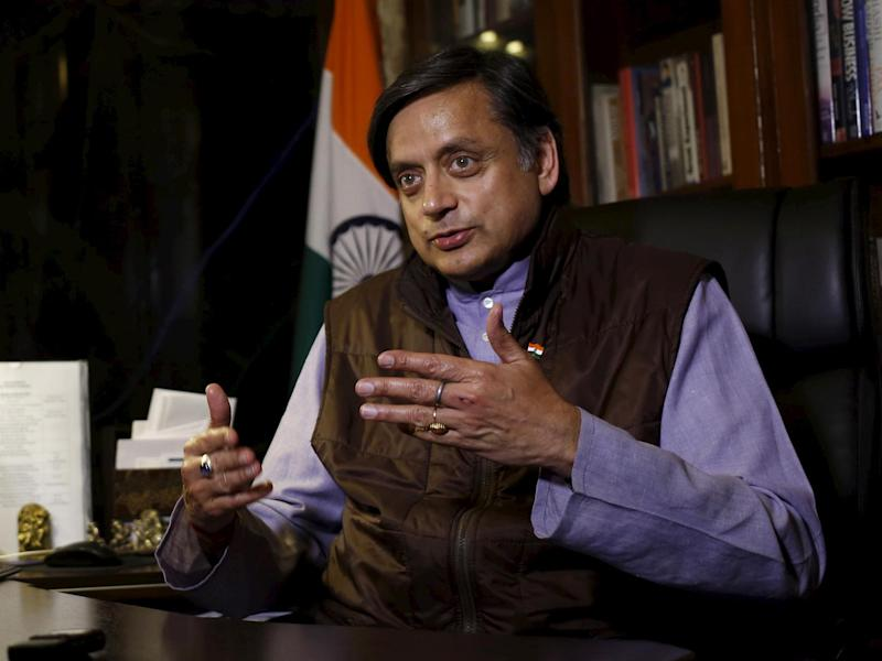 Indian MP Shashi Tharoor has previously said up to $3 trillion of reparations should be paid by Britain to India: Reuters