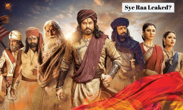 Sye Raa Leaked On Tamilrockers On The Same Day Of It's Worldwide Release, Makers Shocked!Sye Raa Leaked On Tamilrockers On The Same Day Of It's Worldwide Release, Makers Shocked!