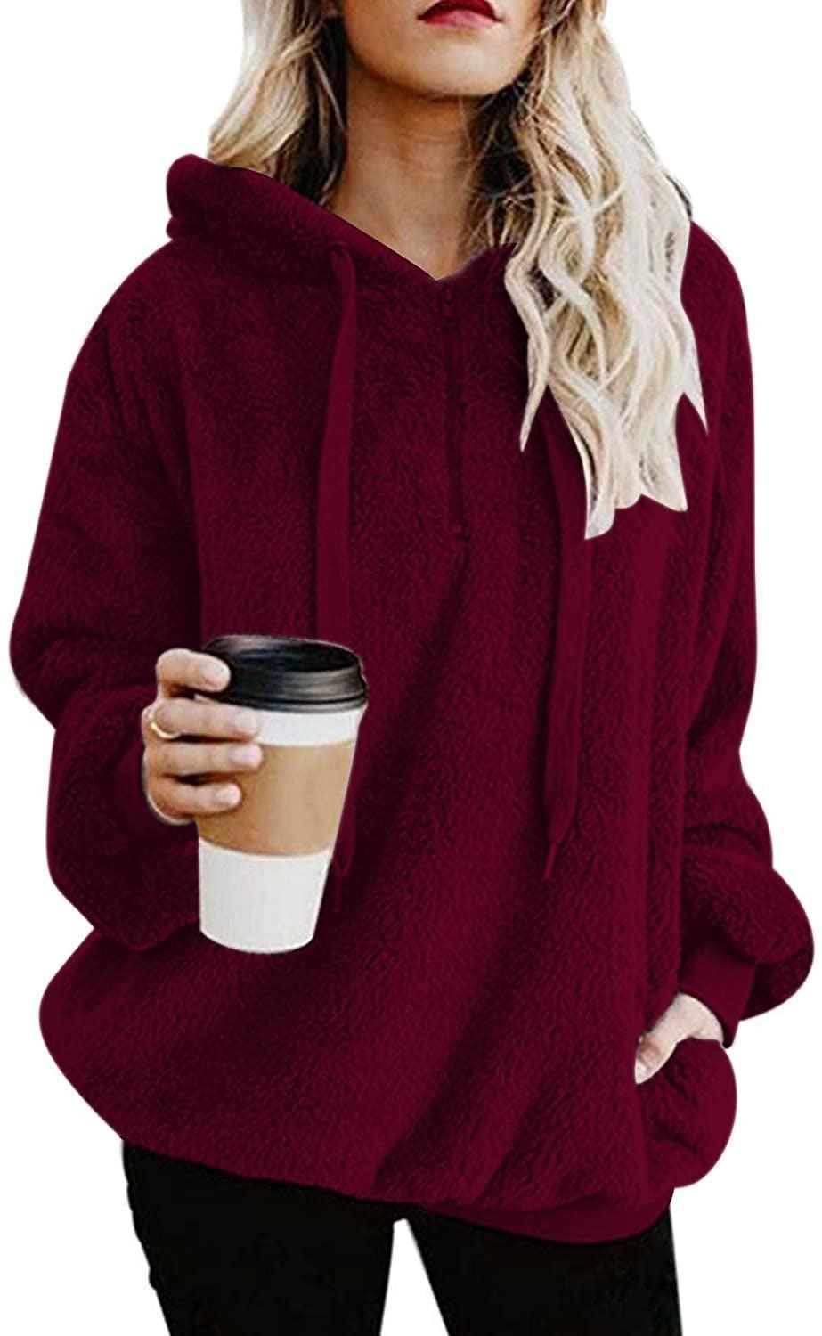 <p>They'll wear this <span>Century Star Fuzzy Hoodie</span> ($17-$25) all season long.</p>
