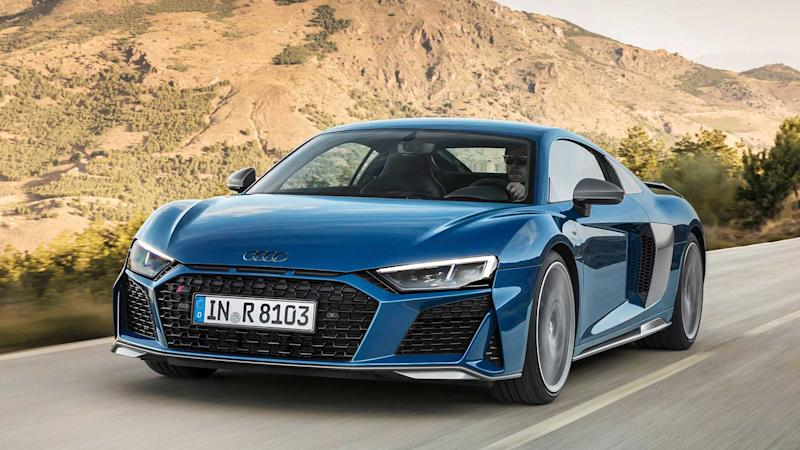 Audi R Refresh Revealed With Bhp - R8 audi