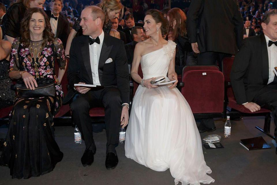 """<p>Protocol dictates that the <a href=""""https://www.cosmopolitan.com/uk/reports/a20627033/royal-wedding-etiquette-guests-need-to-know/"""" rel=""""nofollow noopener"""" target=""""_blank"""" data-ylk=""""slk:Queen is supposed to be the last person to arrive"""" class=""""link rapid-noclick-resp"""">Queen is supposed to be the last person to arrive</a> at royal events. In fact, at Meghan and Harry's wedding, she arrived just five minutes before the bride.</p>"""