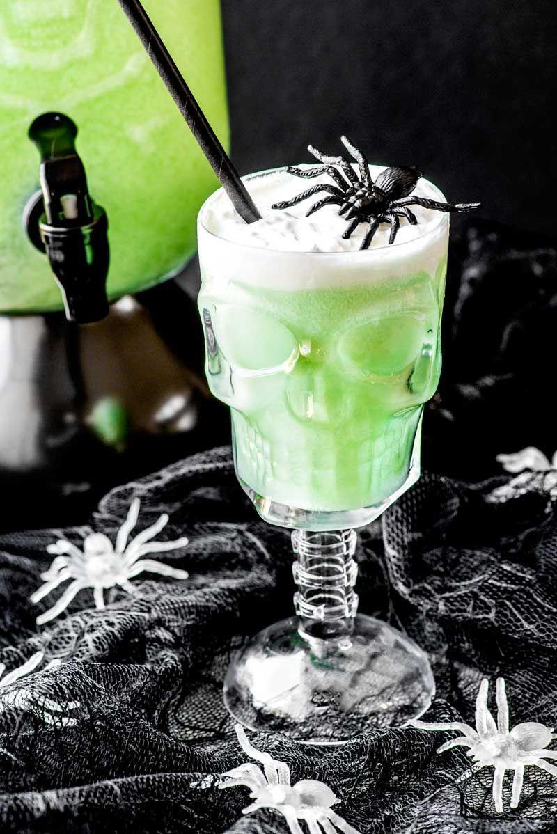 """<p>Looking for a last minute punch for the Harry Potter lovers in your life? This """"Polyjuice Potion"""" only has three ingredients: lime sherbet, lemon-lime soda, and ginger ale. Throw it together just in time for the bash!</p><p><strong>Get the recipe at <a href=""""https://homemadehooplah.com/polyjuice-potion/"""" rel=""""nofollow noopener"""" target=""""_blank"""" data-ylk=""""slk:Homemade Hooplah"""" class=""""link rapid-noclick-resp"""">Homemade Hooplah</a>. </strong></p><p><a class=""""link rapid-noclick-resp"""" href=""""https://go.redirectingat.com?id=74968X1596630&url=https%3A%2F%2Fwww.walmart.com%2Fsearch%3Fq%3Dpunch%2Bdispenser&sref=https%3A%2F%2Fwww.thepioneerwoman.com%2Fholidays-celebrations%2Fg36792938%2Fhalloween-punch-recipes%2F"""" rel=""""nofollow noopener"""" target=""""_blank"""" data-ylk=""""slk:SHOP PUNCH DISPENSERS"""">SHOP PUNCH DISPENSERS</a></p>"""