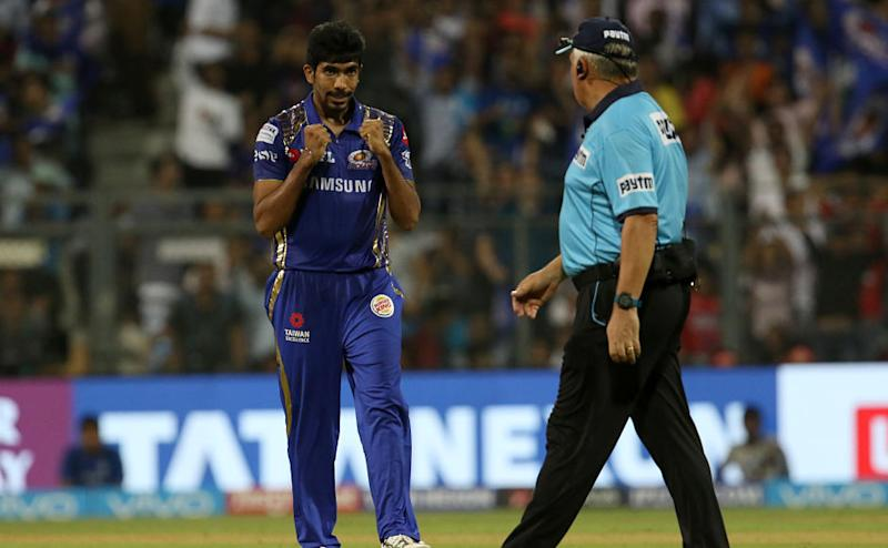 Jasprit Bumrah showed his nerves of steel as he was the catalyst in bringing Mumbai Indians back into the game at a time when Kings XI Punjab needed 32 off 18 balls. Sportzpics