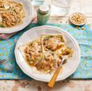 """<p>These ravioli are made using wonton wrappers. You can stuff them with your favorite ingredients, like this savory pumpkin filling.</p><p><a href=""""https://www.thepioneerwoman.com/food-cooking/recipes/a11879/pumpkin-ravioli/"""" rel=""""nofollow noopener"""" target=""""_blank"""" data-ylk=""""slk:Get the recipe."""" class=""""link rapid-noclick-resp""""><strong>Get the recipe.</strong></a></p>"""