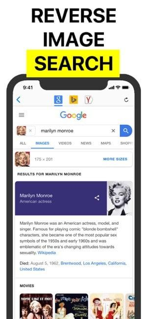 how to perform a reverse image search in android ios reversee 1