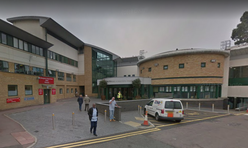 Serving midwife Lynsay Coventry died on Thursday, Princess Alexandra Hospital NHS Trust confirmed. (Picture: Google Maps)