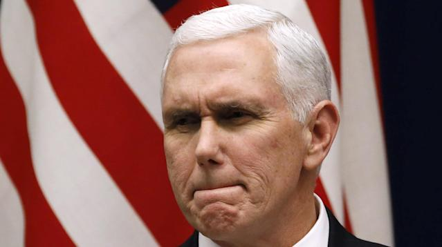 "Vice President Mike Pence is being slammed as a ""hypocrite"" for sending a tweet in support of openly gay U.S. Olympic figure skater Adam Rippon on Wednesday."