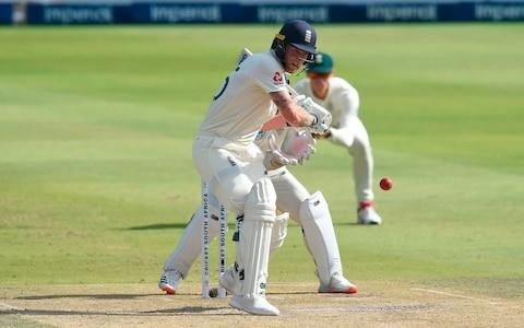 England's Ben Stokes prepares to play a shot during the third day of the fourth Test cricket match between South Africa and England at the Wanderers Stadium in Johannesburg on January 26, 2020 - Credit: AFP