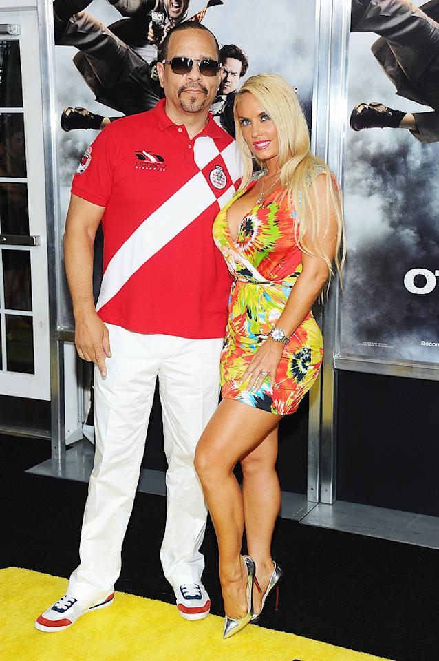 """<a href=""""http://movies.yahoo.com/movie/contributor/1800079996"""">Ice-T</a> and wife Coco at the New York City premiere of <a href=""""http://movies.yahoo.com/movie/1810116447/info"""">The Other Guys</a> - 08/02/2010"""