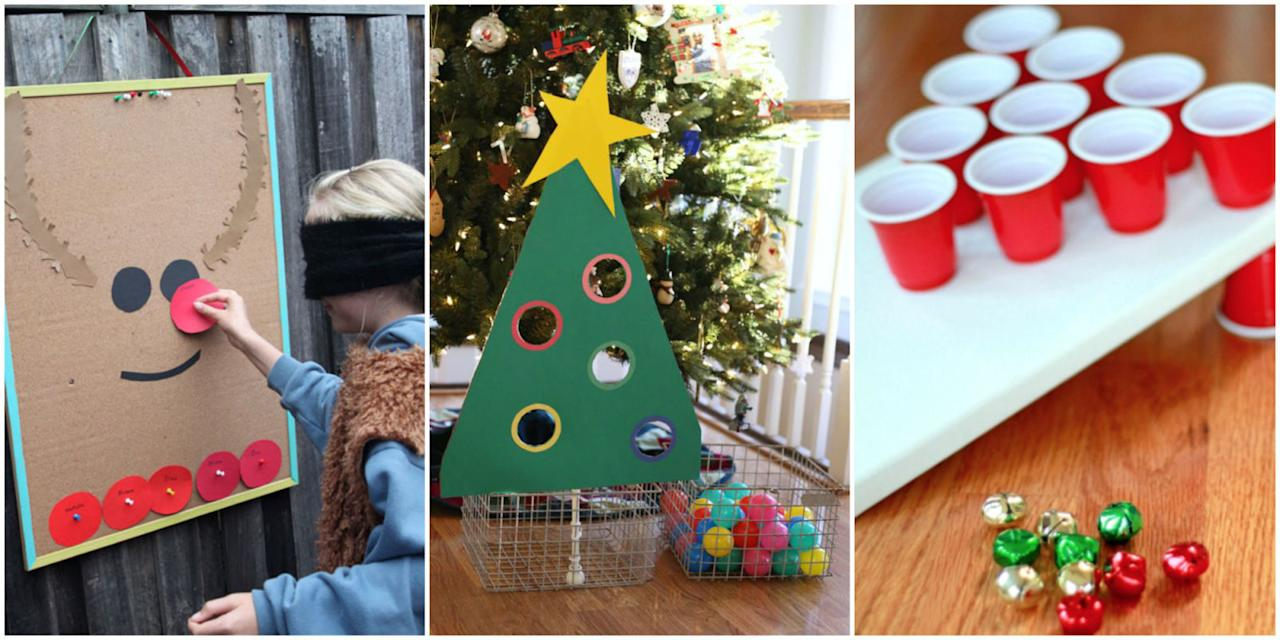 <p>Whether your crew is in the mood to get active (candy cane hunts! snowman bowling!) or wants to cozy up and try their luck with a few board games, you'll definitely want to set aside a Saturday night or two for these holiday game changers. </p>