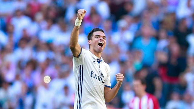 Out of contract at the end of the season, Real Madrid centre-back Pepe is happy to wait for the offer of a new deal.