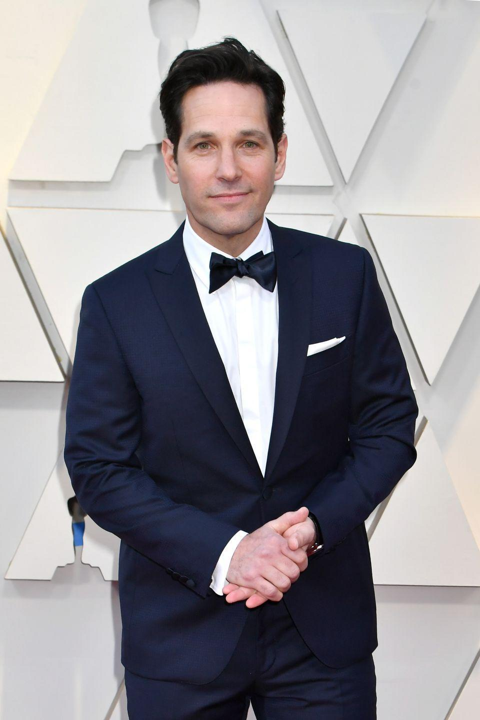 """<p>Now that we know a <a href=""""https://ew.com/movies/2017/04/03/bridesmaids-paul-rudd-deleted-scene/"""" rel=""""nofollow noopener"""" target=""""_blank"""" data-ylk=""""slk:Paul Rudd-Kristen Wiig romance was filmed"""" class=""""link rapid-noclick-resp"""">Paul Rudd-Kristen Wiig romance was filmed</a> for <em>Bridesmaids</em>, we can't help but obsess over what it might have looked like. Rudd filmed a date scene with the film's leading lady, but due to time constraints, the director chose not to introduce another love interest for Wiig. </p>"""
