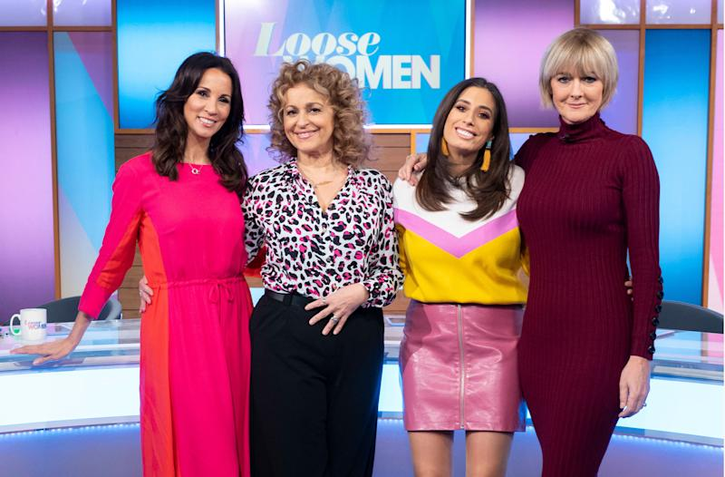 Andrea McLean, Nadia Sawalha, Stacey Solomon and Jane Moore (Photographer Ken McKay/ITV)