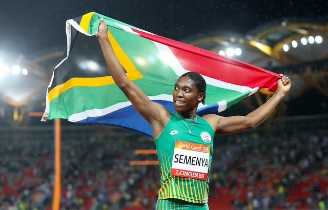 South Africa's Caster Semenya is a two-time Olympic champion (Martin Rickett/PA).