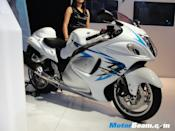 Suzuki will launch the updated Hayabusa, which gets ABS and better brakes.