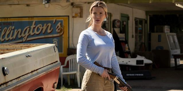 Betty Gilpin in The Hunt (Universal Pictures)