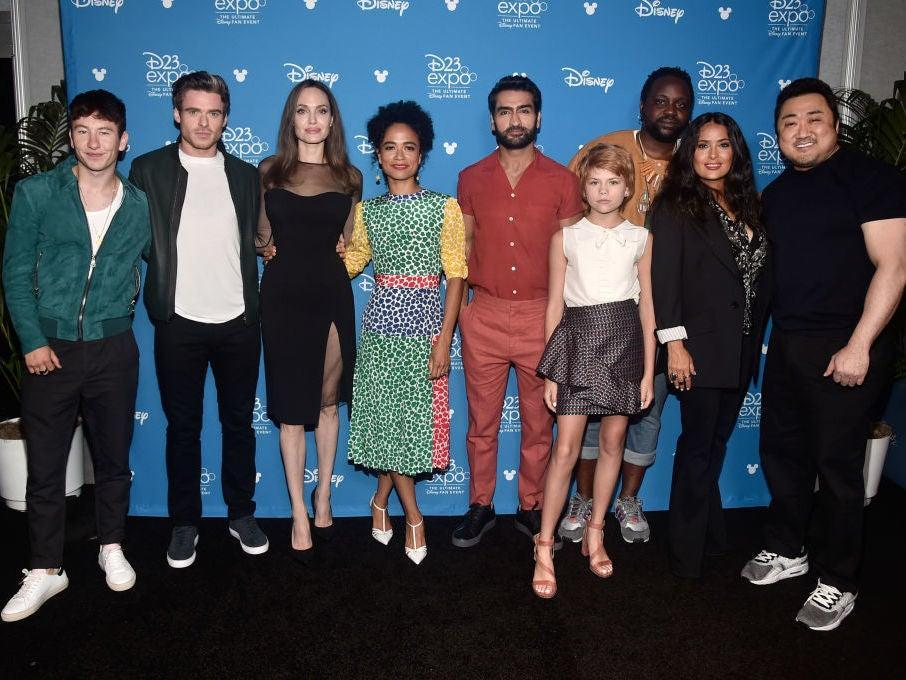 The cast of Marvel film 'Eternals'Getty Images