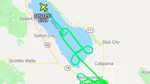 Marines Who Drew Sky Penis Over Southern California Get To Keep Flying
