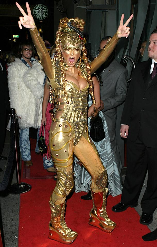 Heidi Klum at the LQ in New York City, New York (Photo by James Devaney/WireImage)