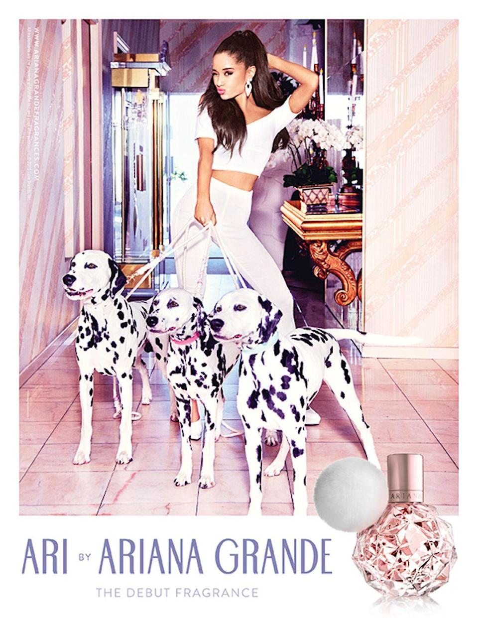 <p>I know she's trying to sell me perfume, but I just want the dogs. </p>