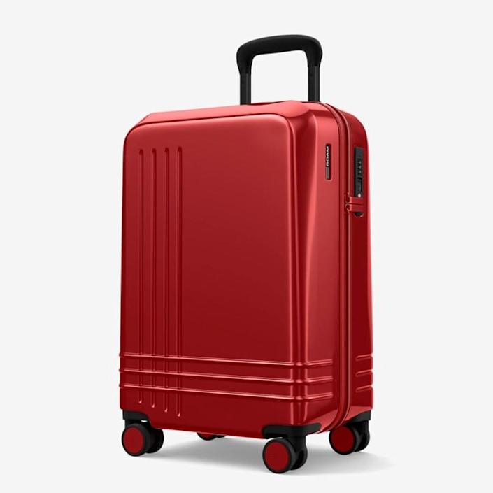 """<h3><strong>ROAM The Jaunt Carry On</strong></h3><br>This endlessly customizable suitcase is optimally small and lightweight for the speediest of no-nonsense, carry-on travelers.<br><br><em>Shop <strong><a href=""""https://roamluggage.com/products/the-jaunt"""" rel=""""nofollow noopener"""" target=""""_blank"""" data-ylk=""""slk:ROAM"""" class=""""link rapid-noclick-resp"""">ROAM</a></strong></em>"""