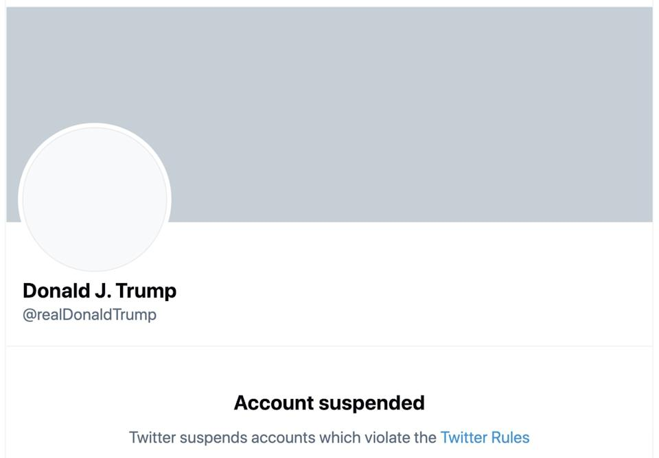 Twitter bans Trump, to the relief of millions.