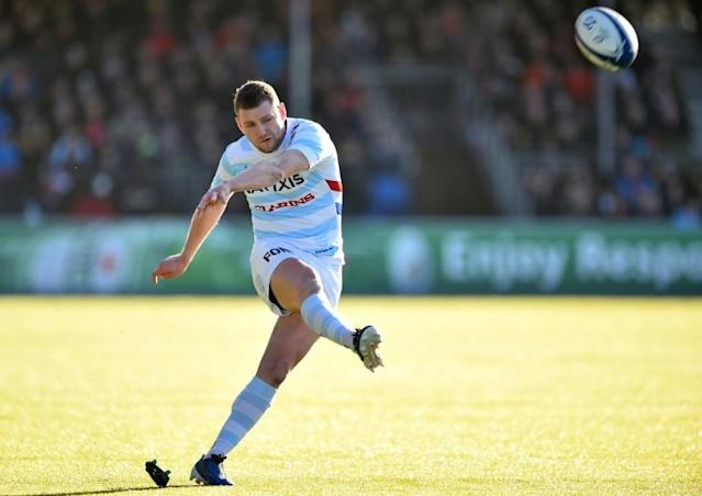 Scotland fly-half Finn Russell has played in 12 of Racing 92's 20 games so far this season (AFP Photo/Glyn KIRK )
