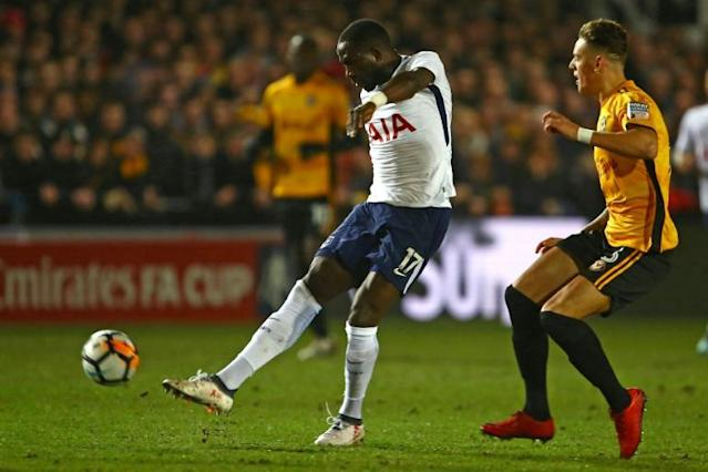 Tottenham midfielder Moussa Sissoko faces a battle to make France's World Cup squad