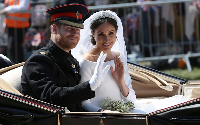 The Duke and Duchess of Sussex's wedding brought in £1bn to UK, they have claimed - PA