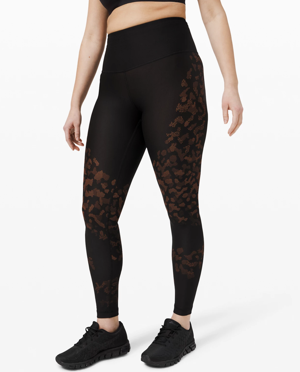 """<p><strong>Lululemon</strong></p><p>lululemon.com</p><p><strong>$79.00</strong></p><p><a href=""""https://go.redirectingat.com?id=74968X1596630&url=https%3A%2F%2Fshop.lululemon.com%2Fp%2Fwomen-pants%2FMapped-Out-HighRise-Tight-28-MD%2F_%2Fprod9491542&sref=https%3A%2F%2Fwww.seventeen.com%2Ffashion%2Fg30519407%2Fdoes-lululemon-have-sales%2F"""" rel=""""nofollow noopener"""" target=""""_blank"""" data-ylk=""""slk:Shop Now"""" class=""""link rapid-noclick-resp"""">Shop Now</a></p><p><strong><del>$128</del> $59 (54% off)</strong></p><p>They've got allll kinds of leggings on super-sale. Whether you're a 25"""" lover or a 28"""" fan (*raises hand*), you can take home your go-to leggings at a sweet discount.</p>"""