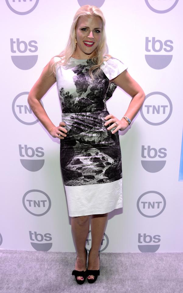 "Busy Phillips (""Cougar Town"") attends the TNT/TBS 2012 Upfront Presentation at Hammerstein Ballroom on May 16, 2012 in New York City."